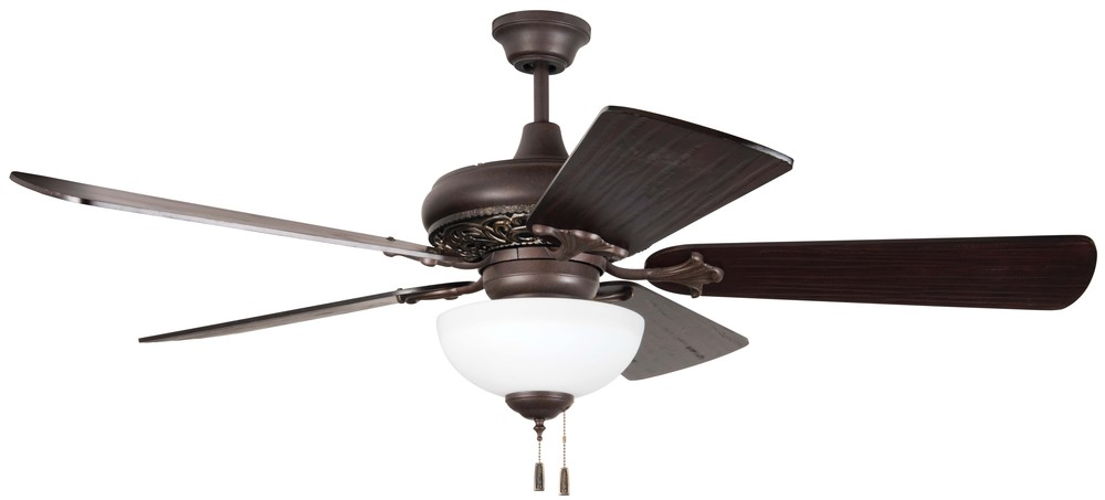 52 mia ceiling fan in aged bronze vintage madera blades sold separately