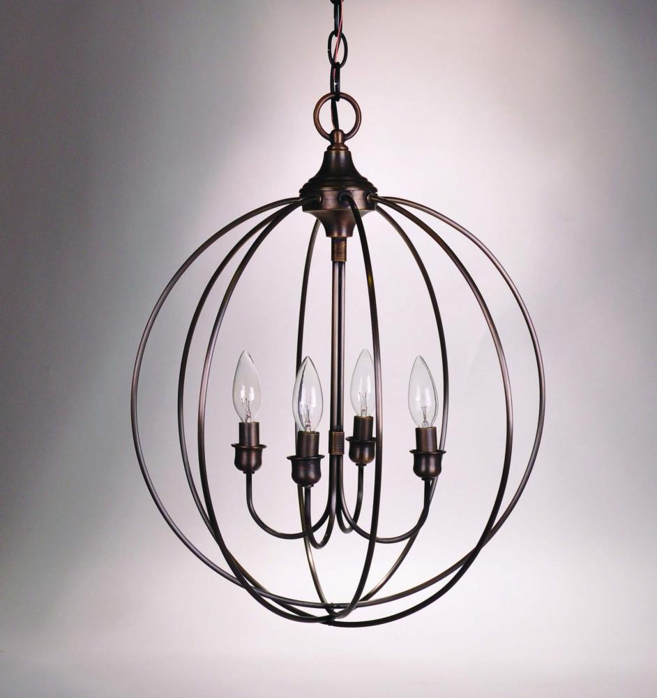 Hanging circle chandelier antique brass 4 candelabra sockets v180a hanging circle chandelier antique brass 4 candelabra sockets mozeypictures Images